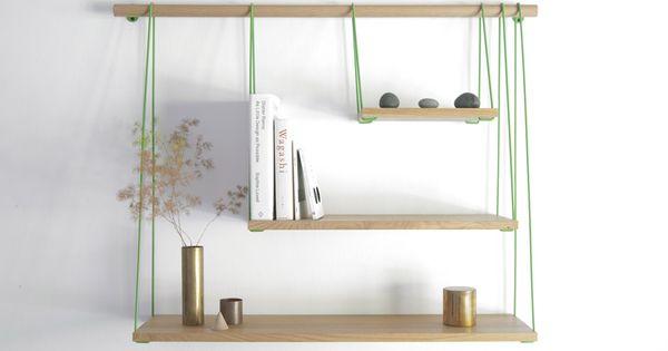 shelves diy a fixer sur une tringle rideaux sur un meuble penderie construire. Black Bedroom Furniture Sets. Home Design Ideas