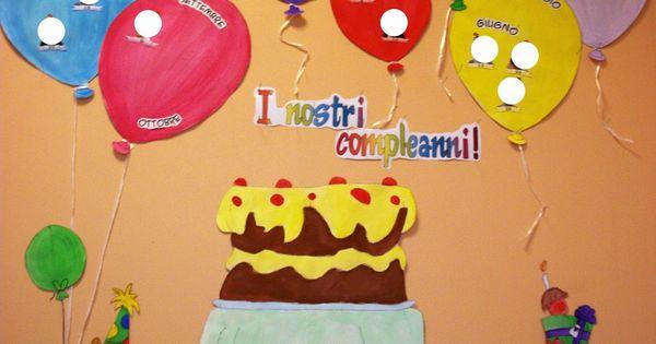 Maestraemily il cartellone dei compleanni idee per la for Maestra nella il libro dei colori
