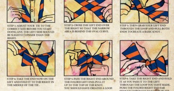 Tie knots - photo