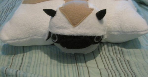 Appa pillow pet, avatar airbender sewing, DIY