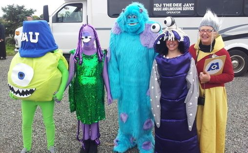Monsters, Inc. Group Costume  Déguisements dhalloween, Monsters inc ...