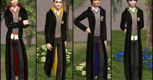 The Sims 4 Harry Potter Stuff Packs By Brittpinkiesims Sims 4 The Sims 4 Packs Sims