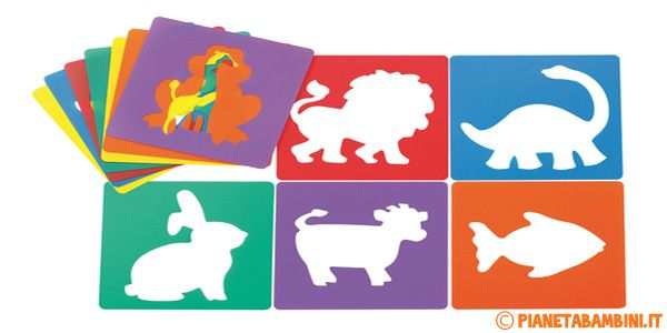Stencil Da Stampare E Ritagliare Per Bambini Stencil