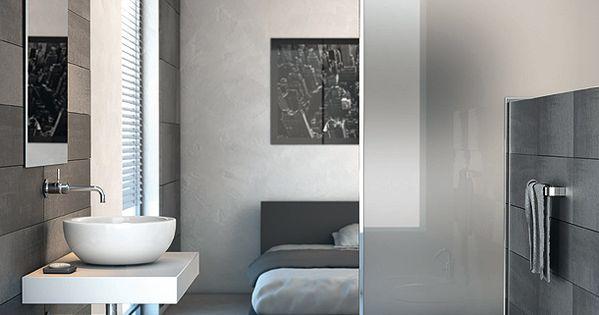 Strada nueva colecci n de lavabos muebles y espejos de for Espejos minimalistas