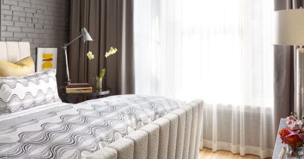 ambientes com cortinas modernas : Ambientes com cortinas modernas Cortinas cinza, Design da casa e ...