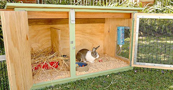 How to build a rabbit hutch better homes and gardens Yahoo better homes and gardens