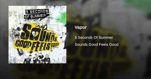 Vapor Youtube Jet Black Heart 5 Seconds Of Summer 5sos Lyrics