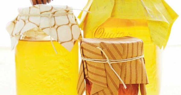 Honey Jar Favors honey party favors food