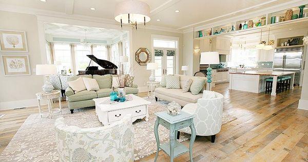 Turquoise living room love this floor sala pinterest for Decorar habitacion residencia universitaria