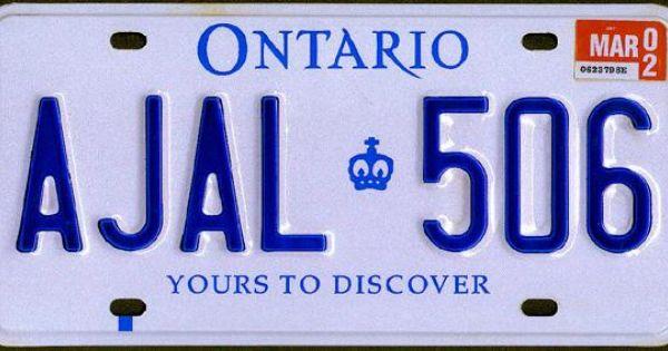 nunavut sample license plate