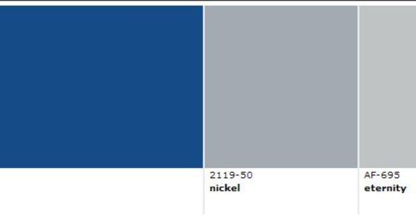 Bm Blue Gray The Perfect Scandinavian Gray Paint Color
