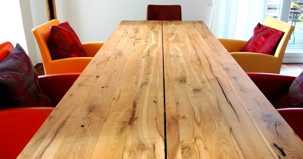 zwinz tisch eiche massiv altholz | zukünftige projekte | pinterest, Möbel