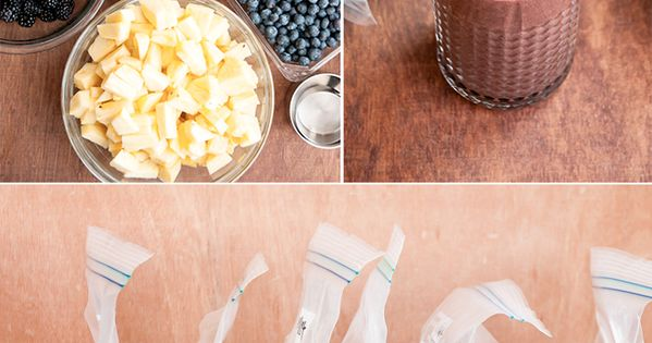 DIY Green Smoothie System (Prep Smoothie packs ahead of time) | Henry