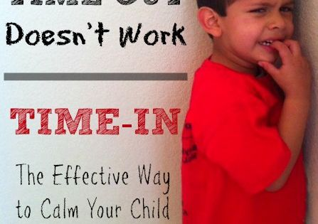 If Time-Out isn't working to discipline your child -- try a TIME-IN!