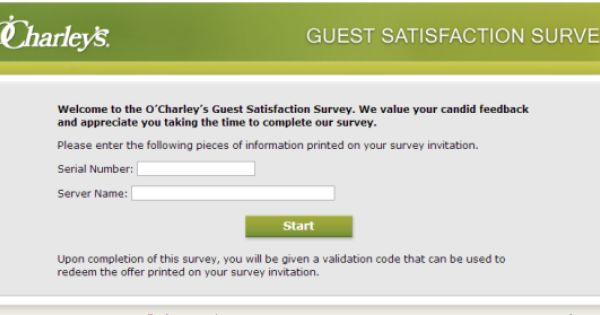 Ou0027 Charleyu0027s Guest Satisfaction Survey, wwwmyocharleysexperience - satisfaction survey