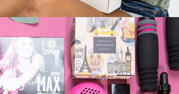 Have you tried the FabFitFun box? It's like a big surprise gift
