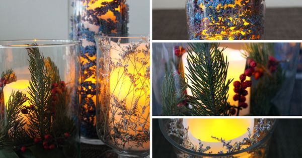 How to Make Your Holiday Table Glow - LED candles!