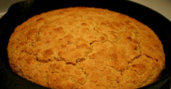Traditional Southern Corn Bread Recipe Vegetarian Corn Bread Recipe Recipes Food