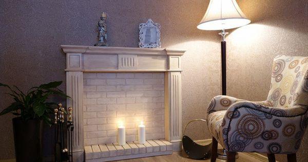 fausse chemin e d corative pour se chauffer les yeux bricolage interieur et bricolage. Black Bedroom Furniture Sets. Home Design Ideas