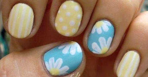 summer nail art | nail art | nail designs | nail color