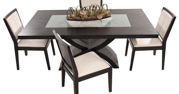 el dorado furniture zephyranth 5 piece formal dining set kitchen dining pinterest dining. Black Bedroom Furniture Sets. Home Design Ideas