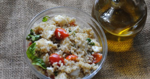 Quinoa, Salads and Caprese salad on Pinterest