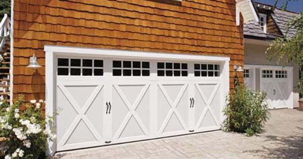 Carriage Style Garage Doors Growing In Popularity Carriage Style Garage Doors Garage Door Design Garage Door Styles