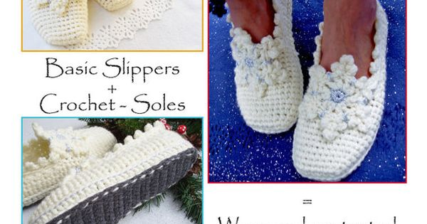 ... CROCHET-Soles Tutorial - Instant Download Pdf Snowflakes, Patterns