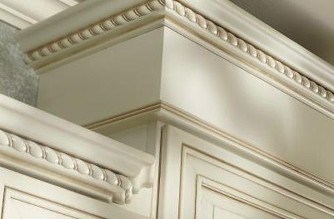 Cream Crown Molding Kitchens Yahoo Image Search