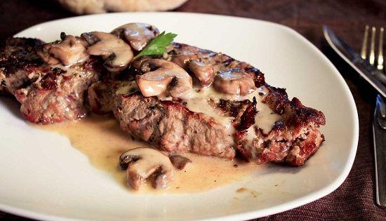 Resep Steak Daging Jamur Makanan Saus Bistik Resep Daging Sapi