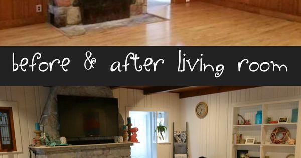 Before And After Living Room Remodel Coastal Living Room Remodel