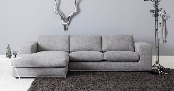 Hoekbank infinity 60132325 hoekbanken goossens wonen en slapen hoekbanken pinterest - Grijze lounge taupe ...