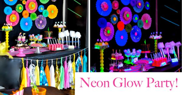 Neon Glow Party | Glow Birthday Party Ideas