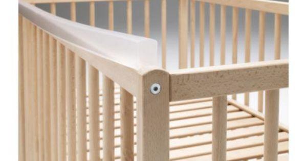 Ikea Noga Teething Rail For Crib Clear Chloe