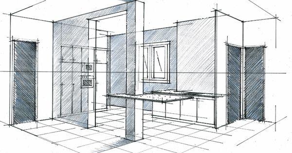Perspective D 39 Une Cuisine Ouverte Philippe Ponceblanc Architecte D 39 Int Rieur Http Www