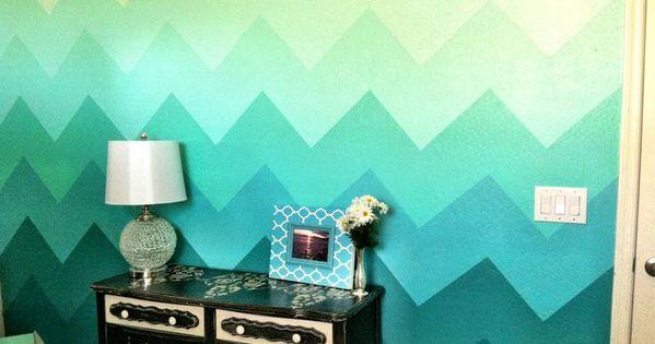 C mo pintar l neas y dise os en las paredes paredes for Disenos para pintar paredes