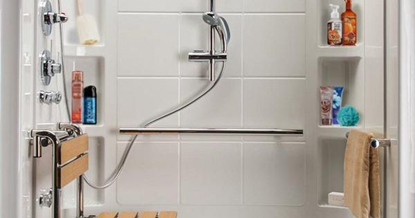 Designed For Seniors Hydrotherapy Walk-In Shower. Get pain ...