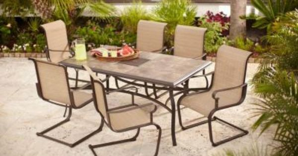 the belleville 7 piece patio dining set download