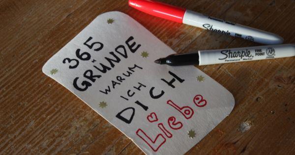 365 Grunde Warum Ich Dich Liebe Cooles Diy Geschenk Zum