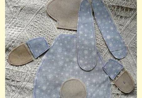 Inspiring Little Sleeping Rabbit Bean Bag Or Wheat Bag