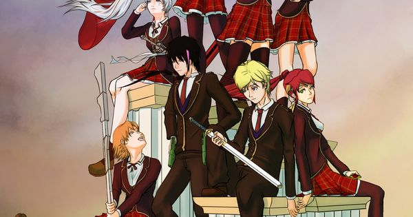 Rwby team rwby and jnpr poster by essynthesis on - Ruby rose rule 34 ...