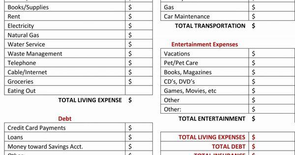 Example Of Gail Vaz Oxlade Budget Spreadsheet Dave Ramsey Printable Worksheet Unique Bud Fr Budget Spreadsheet Template Budget Spreadsheet Budgeting Worksheets