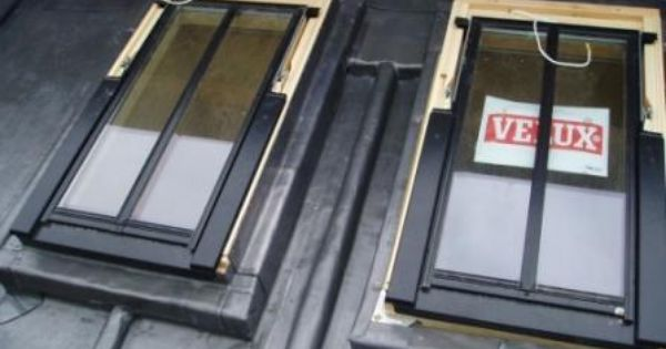 Velux In Lead Window Verriere Velux Fenetre De Toit Velux