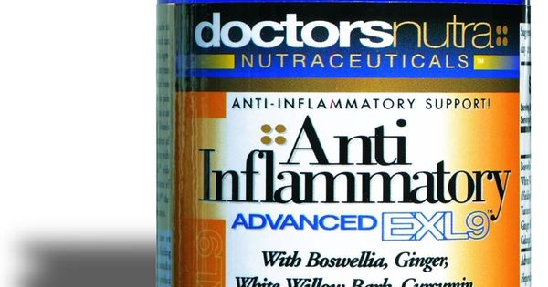 Anti Inflammatory Natural Advanced Exl Pain Relief