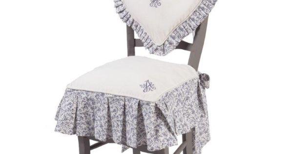 galette de chaise harmonie aliz a alizea linge de maison d co meubles pinterest. Black Bedroom Furniture Sets. Home Design Ideas