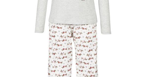 clothing at tesco f f sausage dog pyjamas nightwear. Black Bedroom Furniture Sets. Home Design Ideas