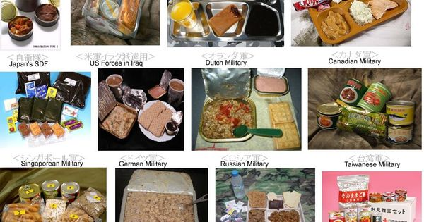 Military Rations Menu Listings Armchair General And