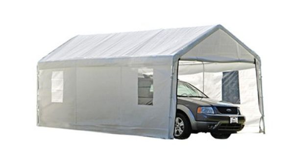 ShelterLogic 10x20 Canopy Enclosure Kit With Windows For 1