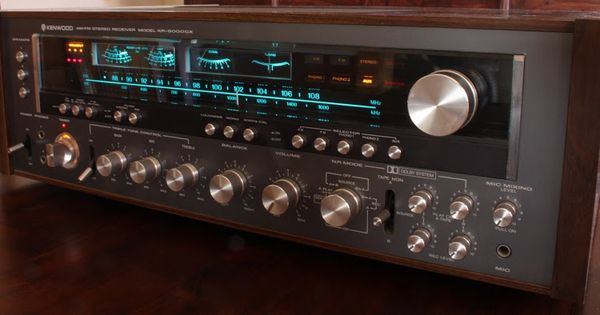 The Classic Kenwood Kr 9000g 9000 Gx Remember When