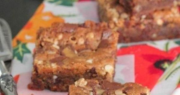 Loaded malted chocolate chip cookie bars...wow!! | Recipe for Makin ...